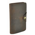 Кожаный портмоне TIDING BAG 8032R коричневый - Фото № 100
