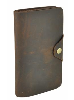 Кожаный портмоне TIDING BAG 8032R коричневый