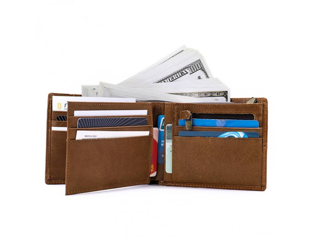 Мужской кожаный портмоне TIDING BAG 8064C - Фото № 2