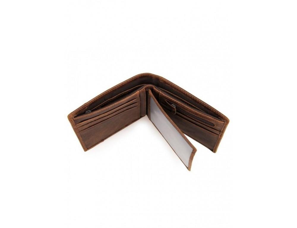 Мужской кожаный портмоне TIDING BAG 8064C - Фото № 3
