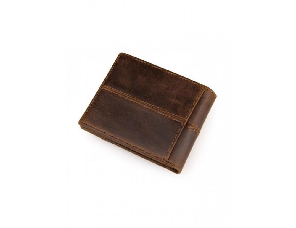 Мужской кожаный портмоне TIDING BAG 8064C - Фото № 4