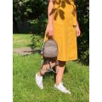 Кожаная сумка - рюкзак Grays 8103G серый - Фото № 100