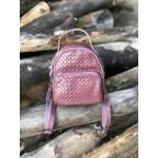Кожаная сумка - рюкзак Grays 8103P Розовый - Фото № 100