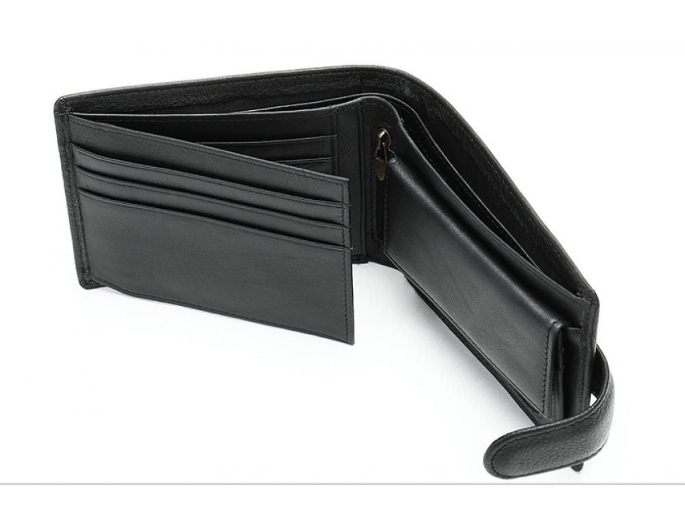 Мужской кожаный кошелек JASPER MAINE 8617A - Фото № 3