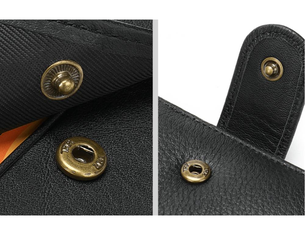Мужской кожаный кошелек JASPER MAINE 8617A - Фото № 5