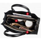 Кожаная сумка Grays 8644A Чёрная - Фото № 102
