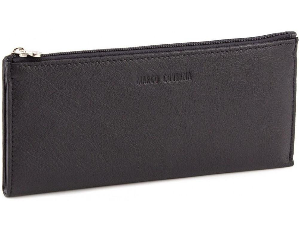 Женский кожаный кошелек Marco Coverna 8805-1 Чёрный