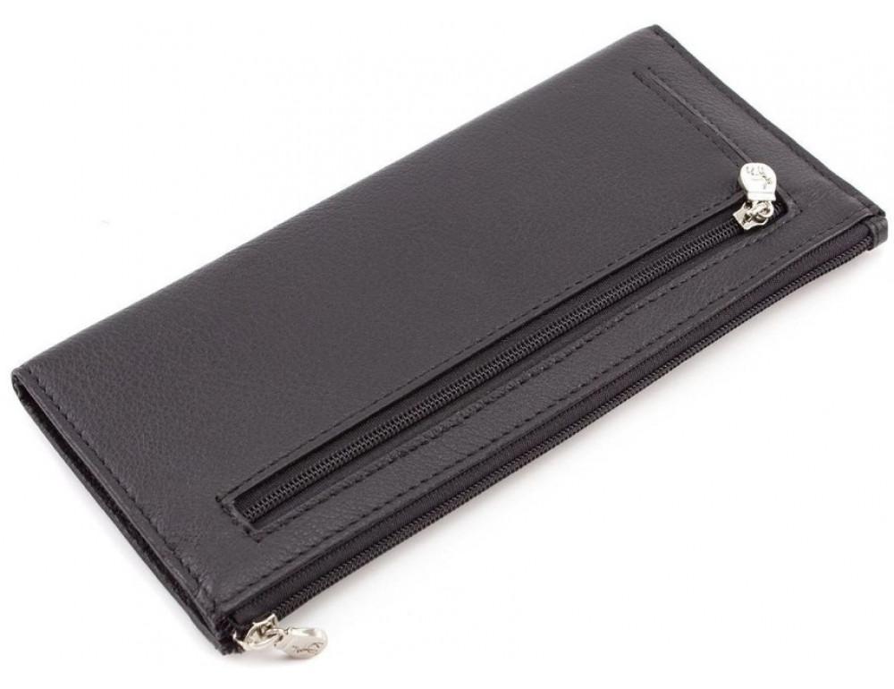 Женский кожаный кошелек Marco Coverna 8805-1 Чёрный - Фото № 3
