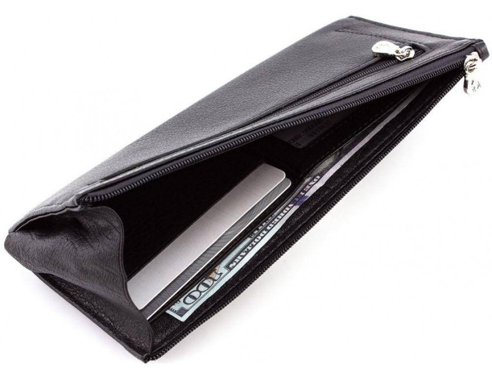 Женский кожаный кошелек Marco Coverna 8805-1 Чёрный - Фото № 4