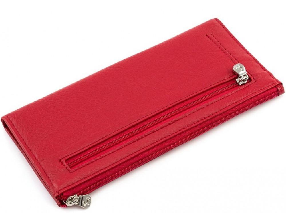 Женский кожаный кошелек Marco Coverna 8805-2 красный - Фото № 3