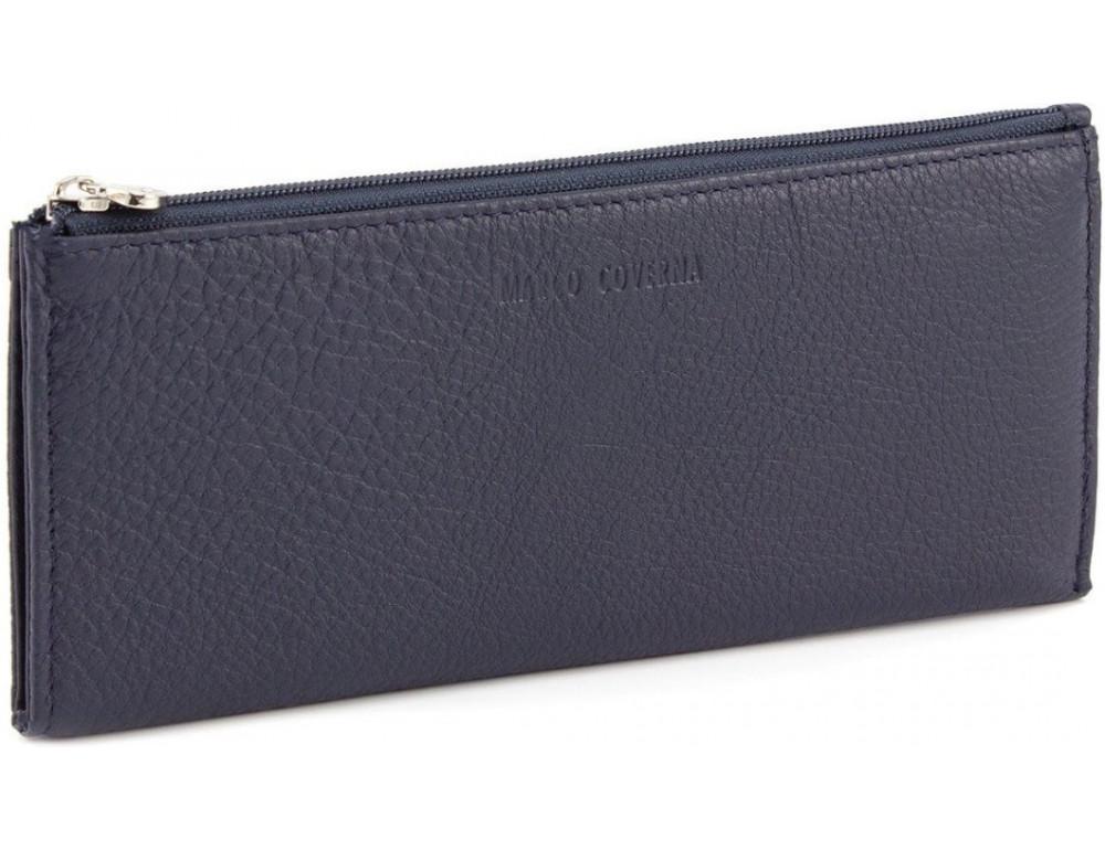 Жіночий шкіряний гаманець Marco Coverna 8805-5 Синій