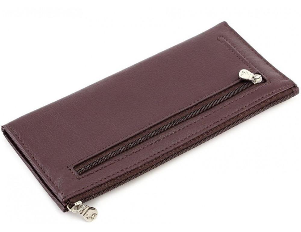 Женский кожаный кошелек Marco Coverna 8805-8 коричневый - Фото № 3
