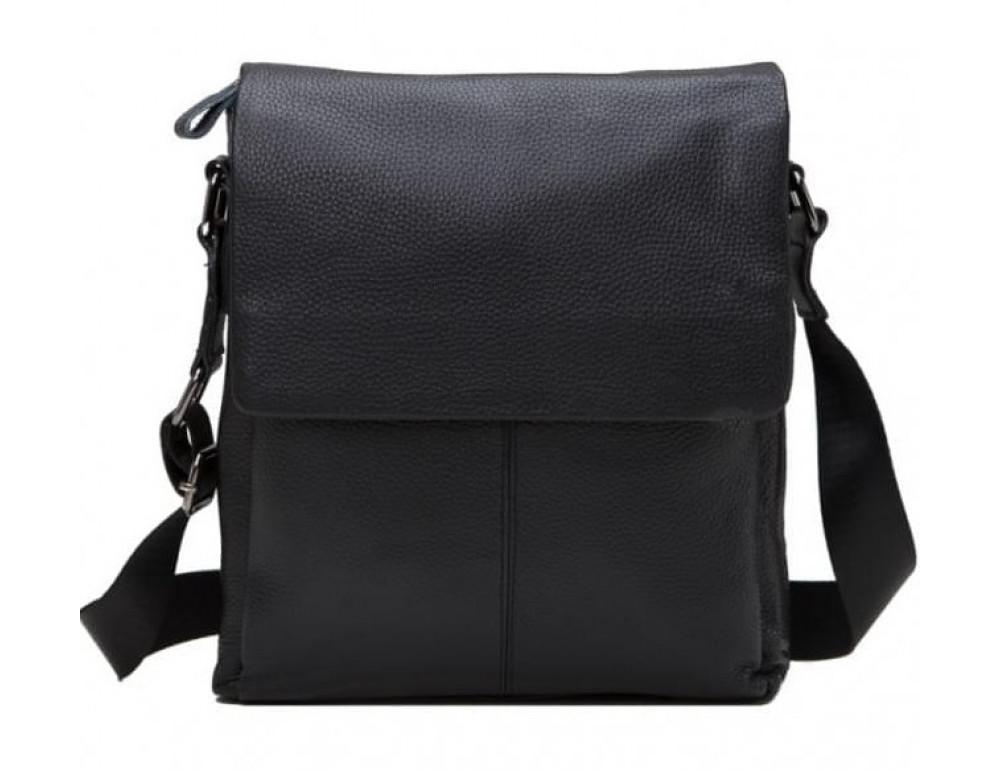 Мужская кожаная сумка-мессенджер Tiding Bag A25-8871A - Фото № 1