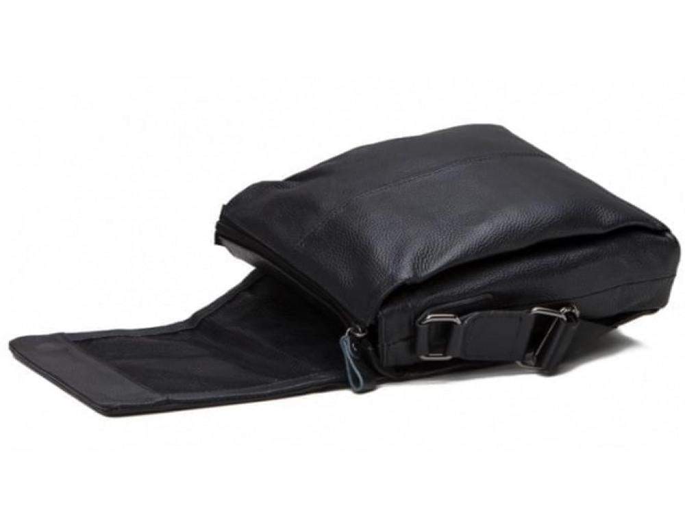 Мужская кожаная сумка-мессенджер Tiding Bag A25-8871A - Фото № 4