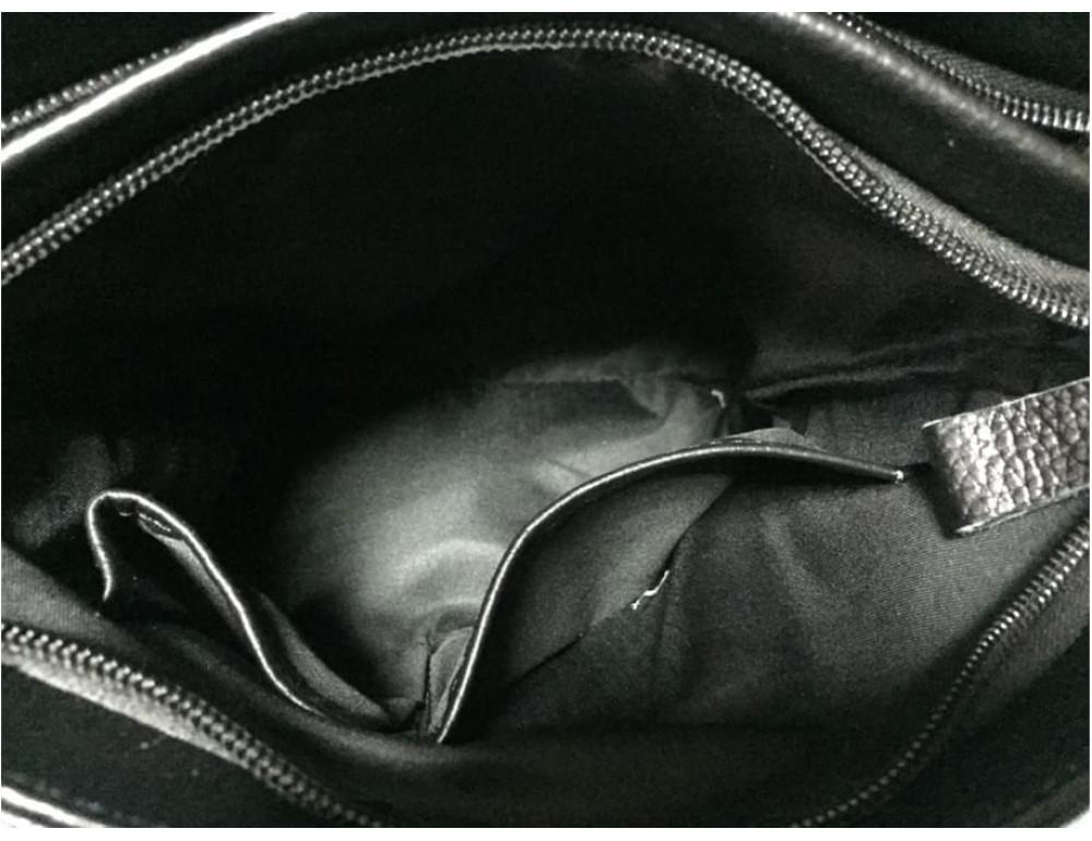 Мужская кожаная сумка-мессенджер Tiding Bag A25-8871A - Фото № 5