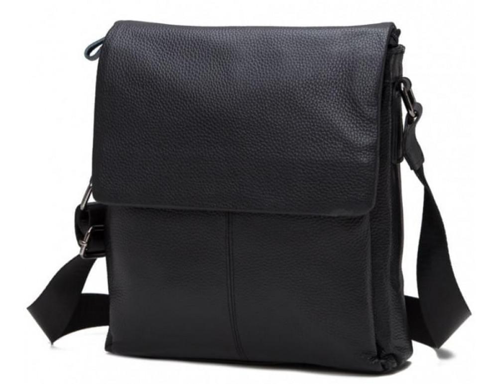 Мужская кожаная сумка-мессенджер Tiding Bag A25-8871A - Фото № 6
