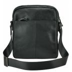 Черная кожаная мужская сумка-мессенджер Tiding Bag 9812-1A - Фото № 103