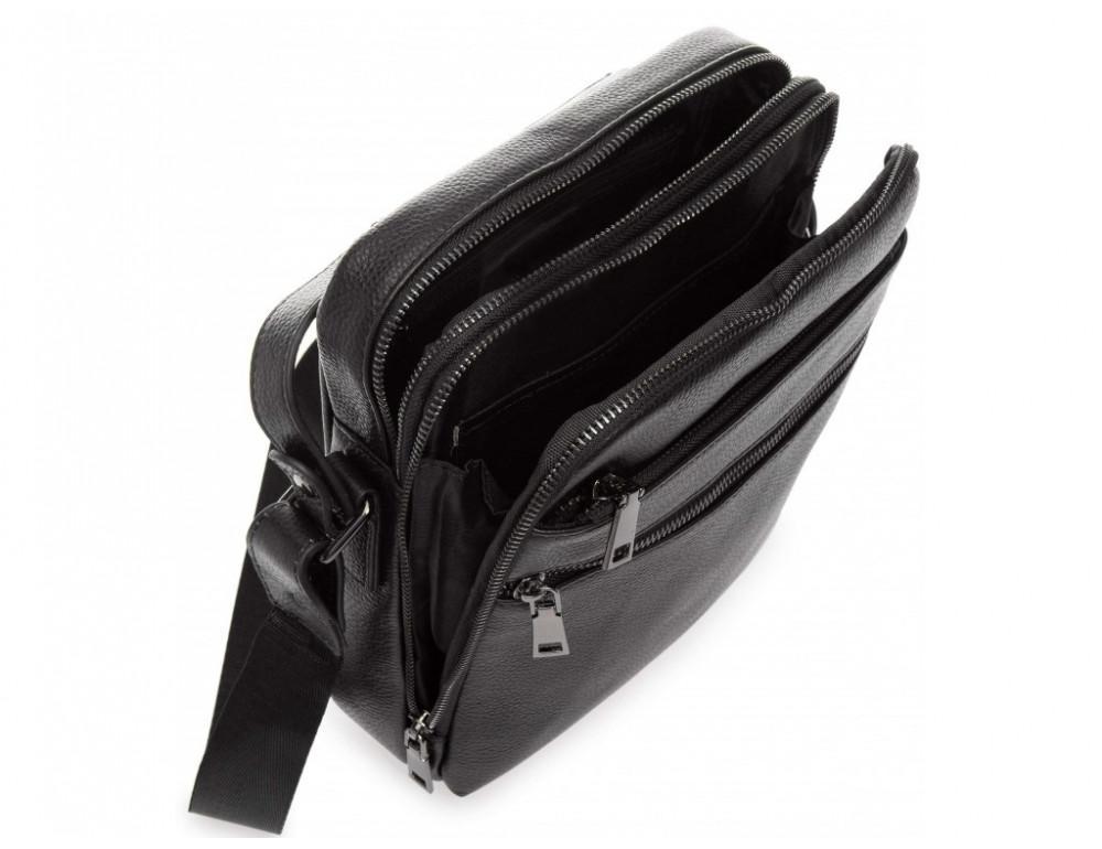 Мужской кожаный мессенджер Tiding Bag A25-17622-3А - Фото № 3