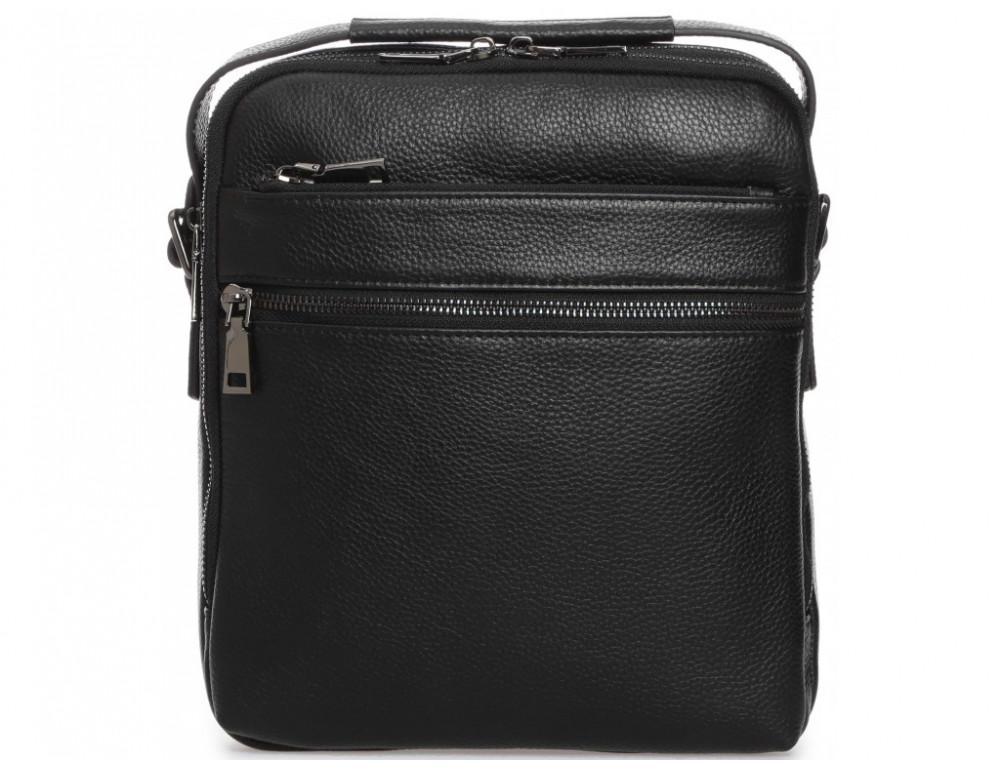 Мужской кожаный мессенджер Tiding Bag A25-17622-3А - Фото № 4