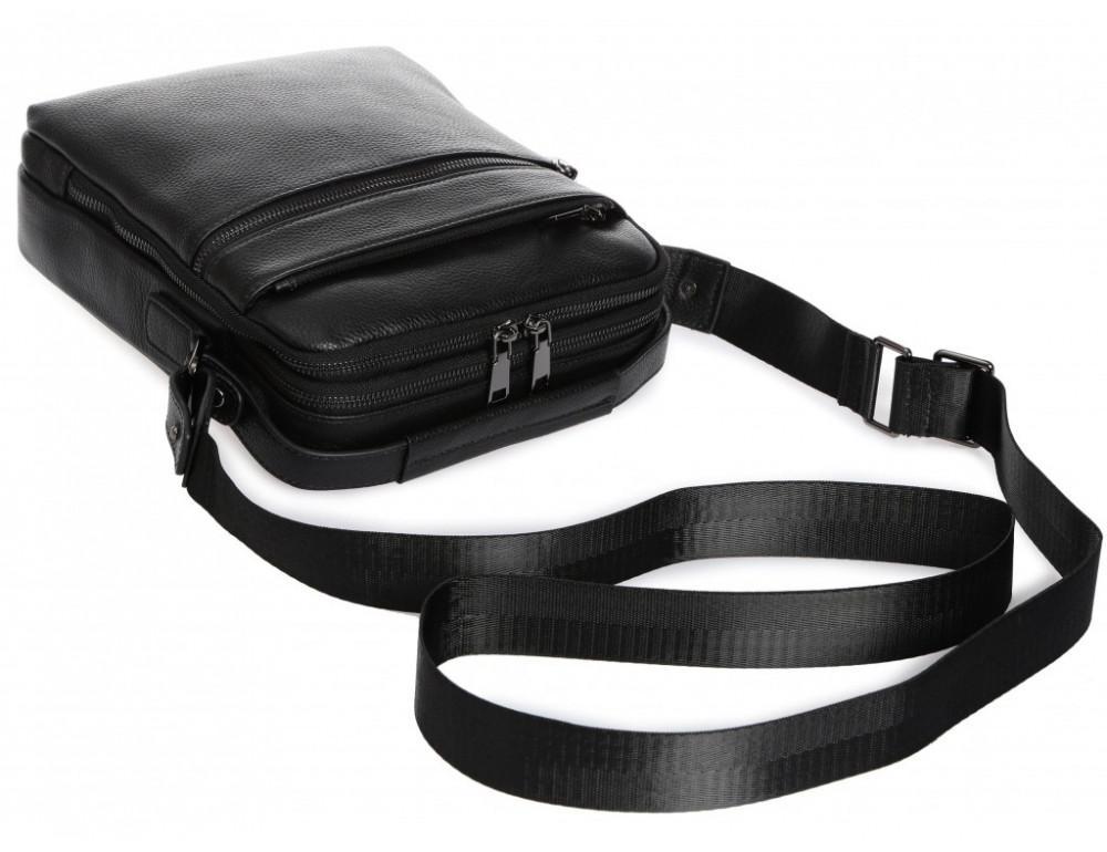 Мужской кожаный мессенджер Tiding Bag A25-17622-3А - Фото № 6