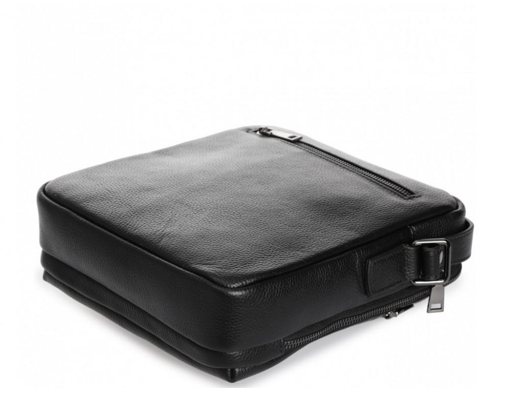 Мужской кожаный мессенджер Tiding Bag A25-17622-3А - Фото № 7