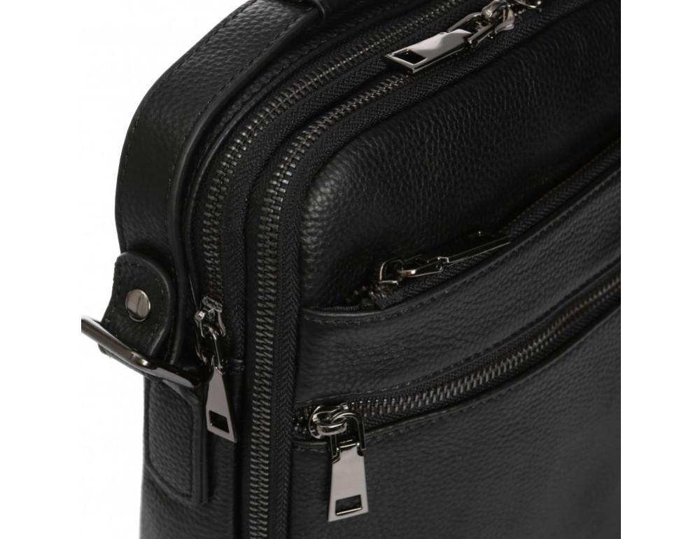 Мужской кожаный мессенджер Tiding Bag A25-17622-3А - Фото № 8