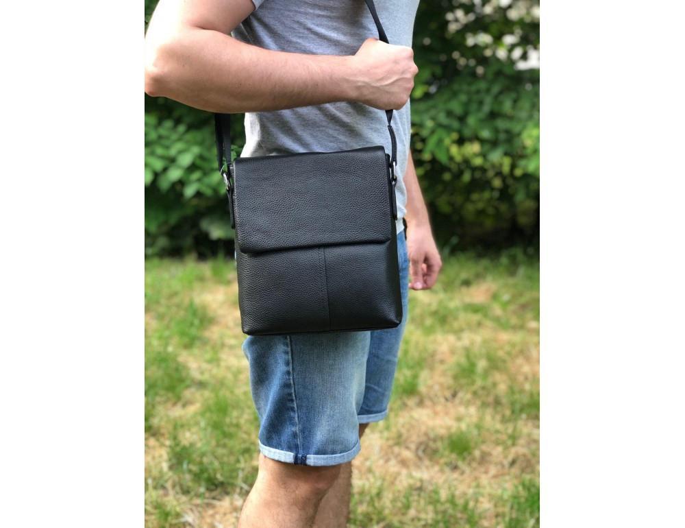 Кожаная сумка на два отделения TIDING BAG A25-8870A - Фото № 2