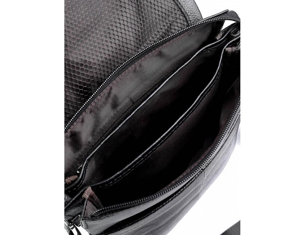 Мужская кожаная сумка-мессенджер Tiding Bag A27-9906A - Фото № 5