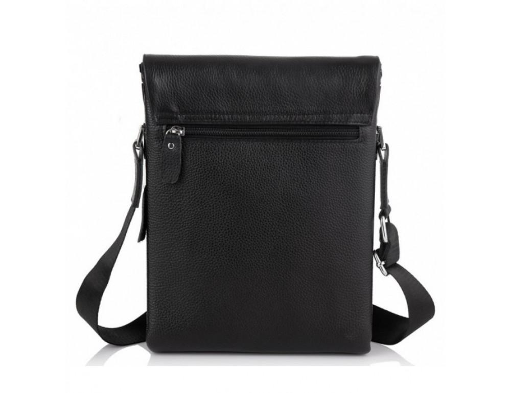 Мужская кожаная сумка-мессенджер Tiding Bag A27-9906A - Фото № 2
