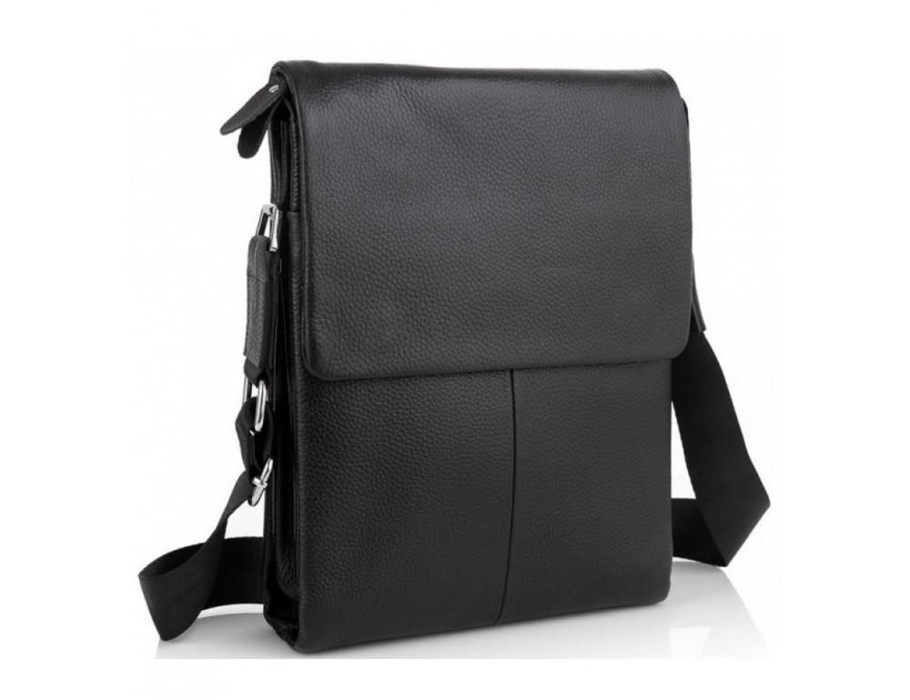 Мужская кожаная сумка-мессенджер Tiding Bag A27-9906A - Фото № 1