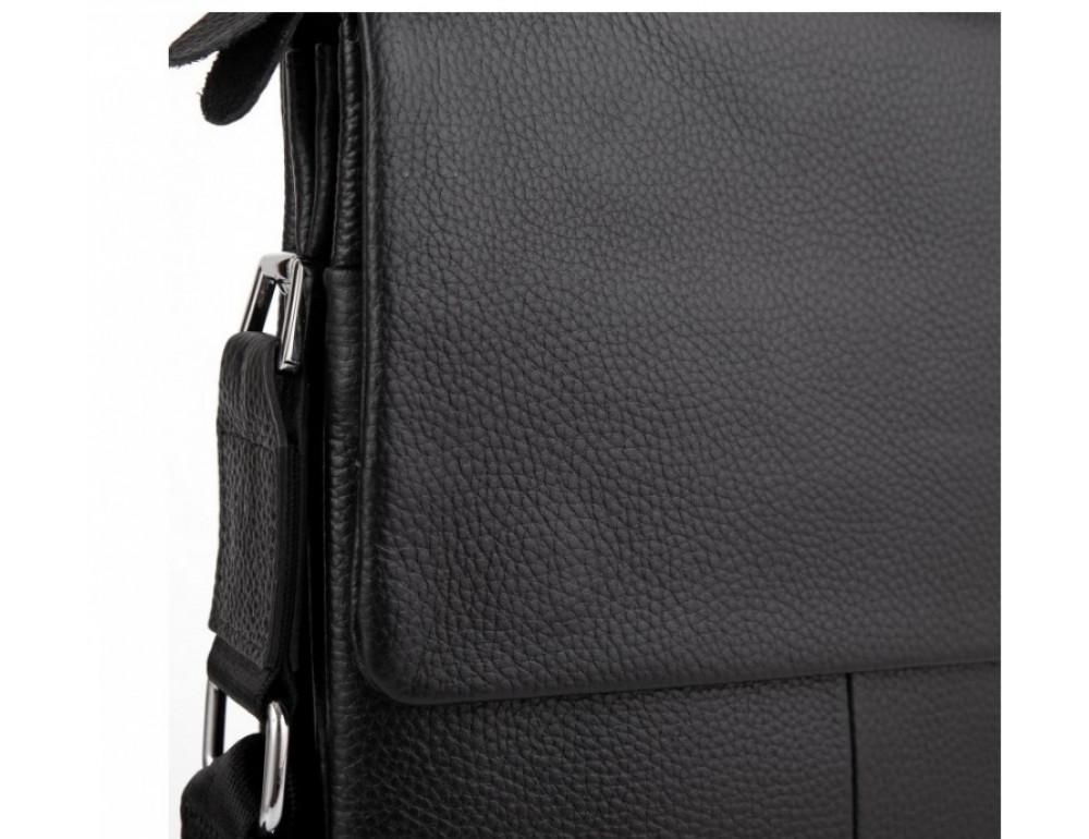 Мужская кожаная сумка-мессенджер Tiding Bag A27-9906A - Фото № 3