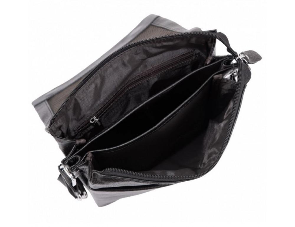 Мужская кожаная сумка-мессенджер Tiding Bag A27-9906A - Фото № 4