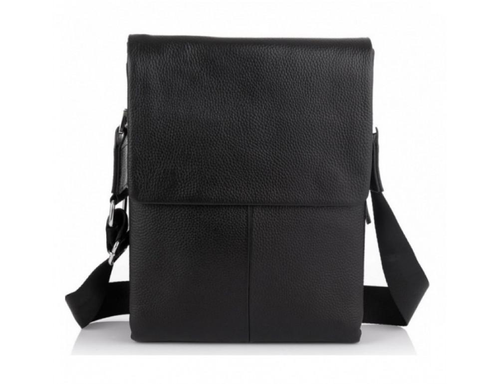 Мужская кожаная сумка-мессенджер Tiding Bag A27-9906A - Фото № 6