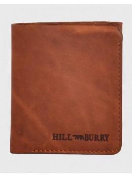 Рыжий кожаный портмоне без подклада Hill Burry AK111HBRB