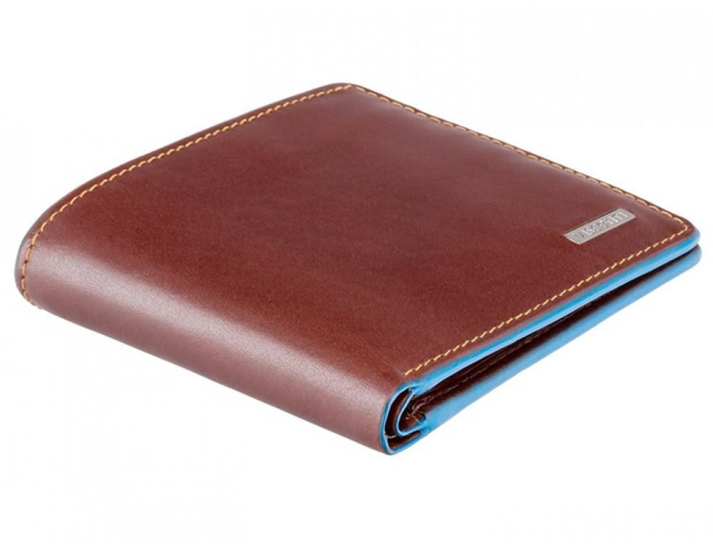 Коричневый кожаный кошелек мужской Visconti ALP85 IT BRN Ozwald с RFID - Фото № 3
