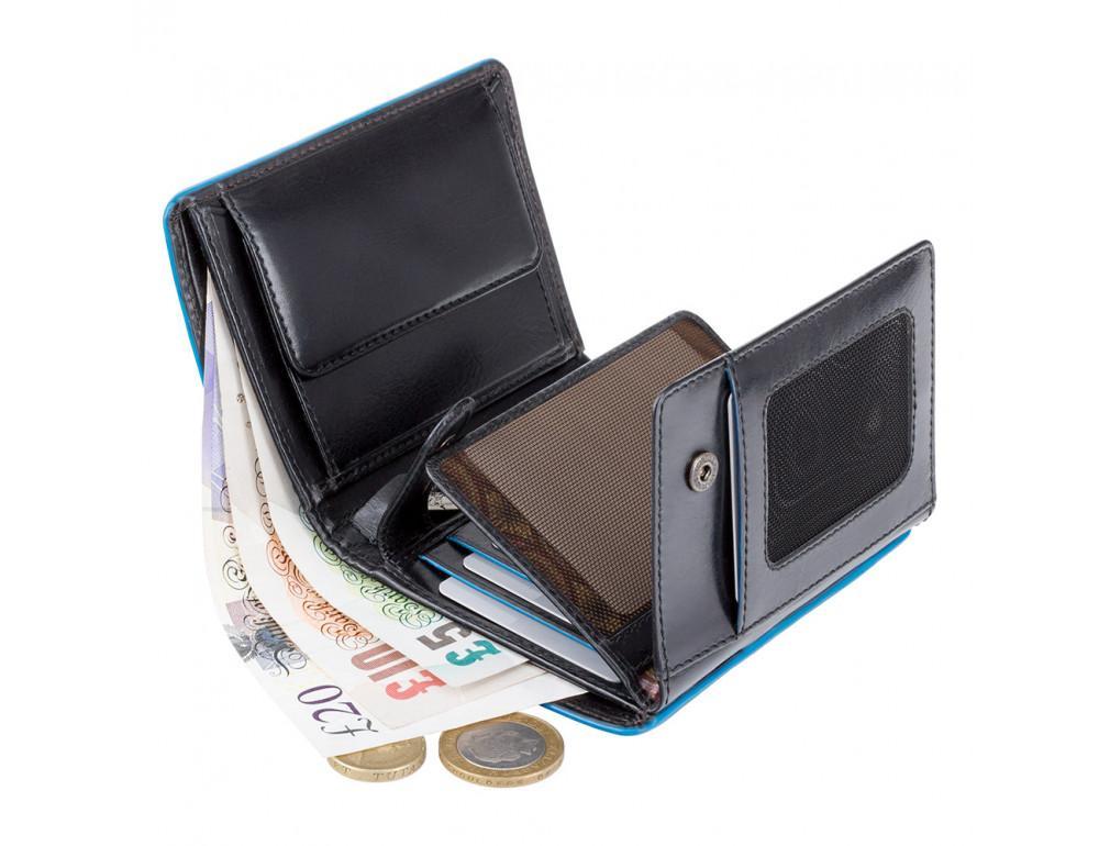 Чёрный мужской кошелек Visconti ALP87 IT BLK Ralph - Фото № 4