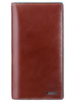 Коричневый кожаный портмоне Visconti ALP88 IT BRN