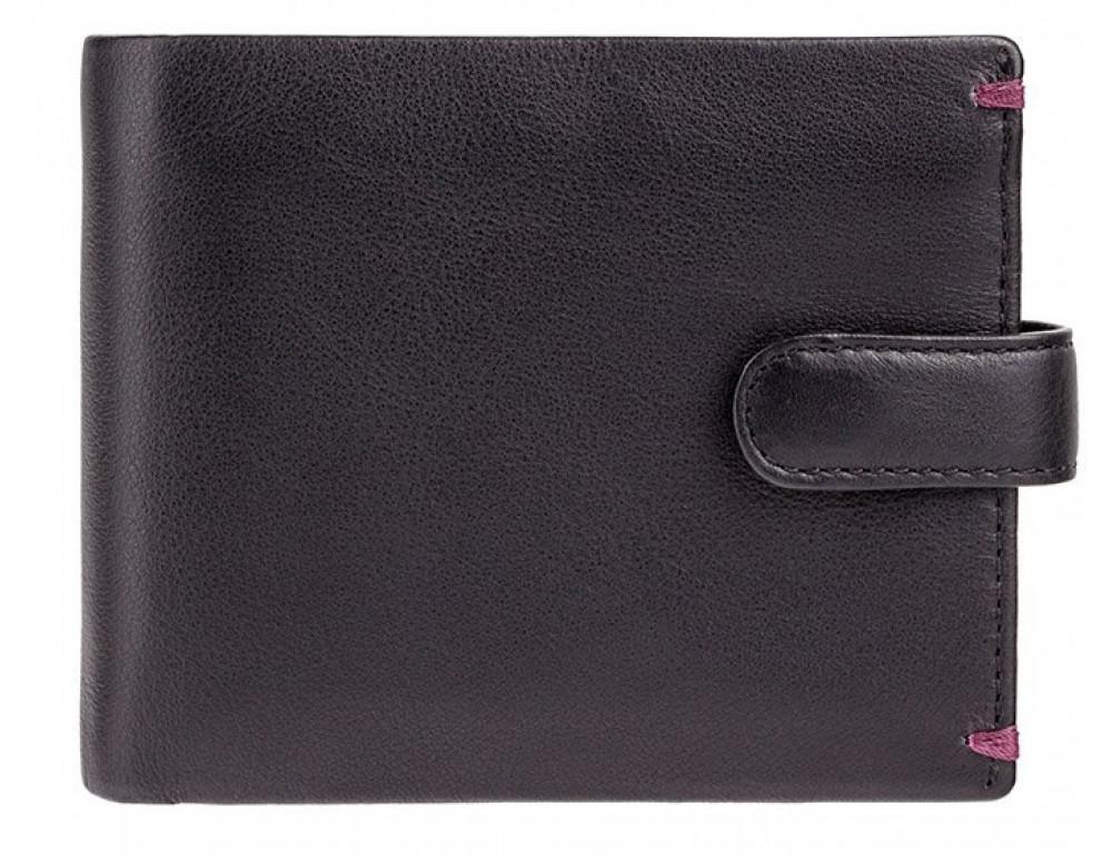 Чёрный кошелек мужской Visconti Lucerne AP63 BLK BG - Фото № 1
