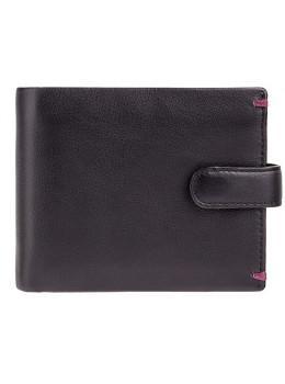 Чорний гаманець чоловічий Visconti Lucerne AP63 BLK BG