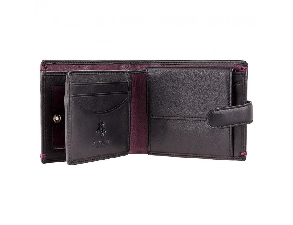 Чёрный кошелек мужской Visconti Lucerne AP63 BLK BG - Фото № 2