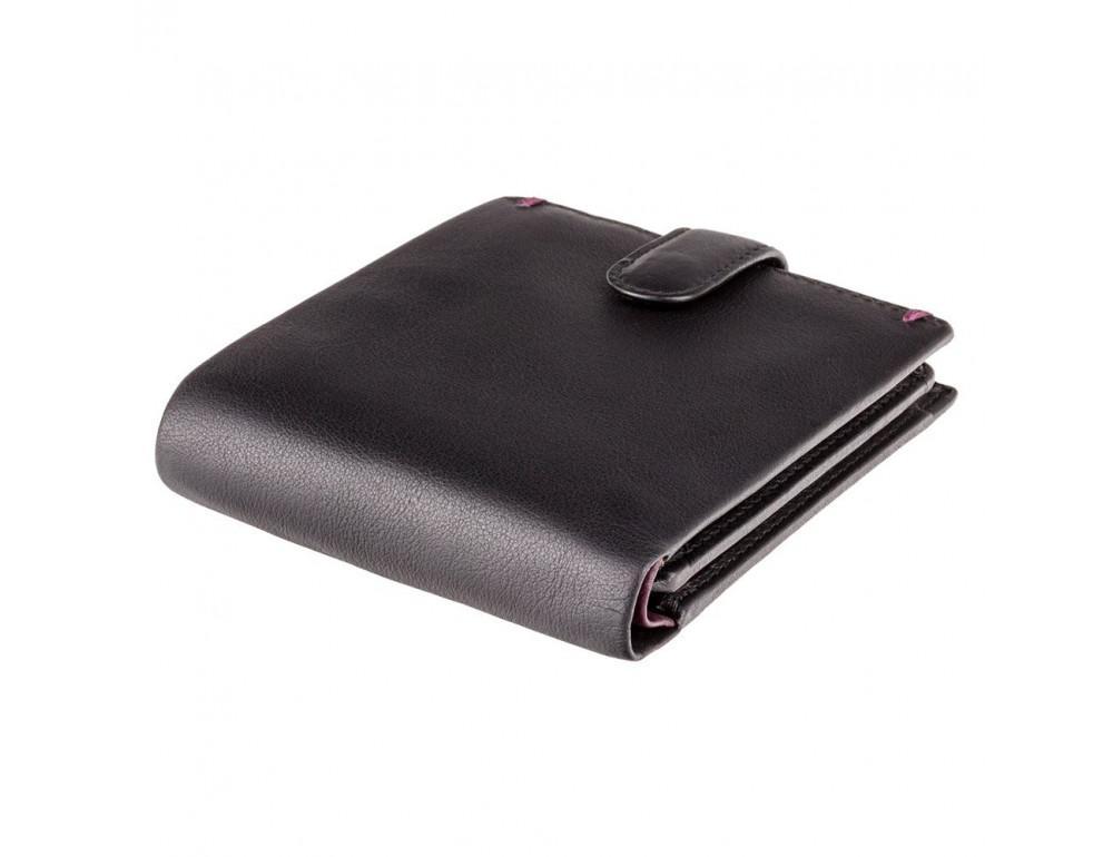 Чёрный кошелек мужской Visconti Lucerne AP63 BLK BG - Фото № 3