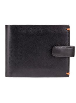 Чорний гаманець чоловічий Visconti Lucerne AP63 BLK ORG