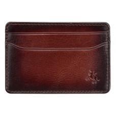 Коричневый кожаный картхоледер Visconti AT54 B/TAN Burnish Tan