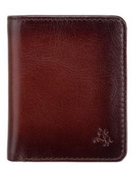 Коричневый кошелек мужской Visconti AT56 B/TAN David c RFID Burnish Tan