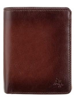 Коричневый кошелек мужской Visconti AT62 B/TAN David c RFID Burnish Tan