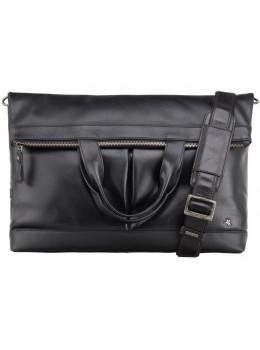 Чёрная мужская сумка для ноутбука Visconti TC74 BLK - Axe