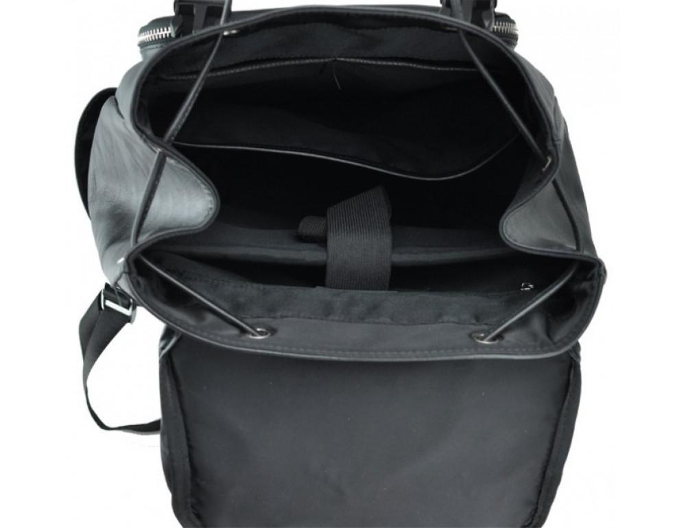 Стильный кожаный рюкзак мужской Tiding Bag B3-174A - Фото № 2