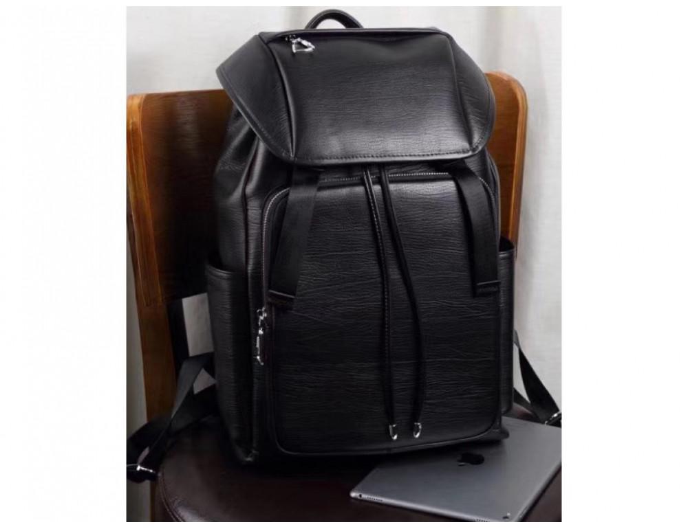 Стильный кожаный рюкзак мужской Tiding Bag B3-174A - Фото № 6