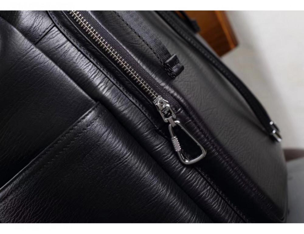 Стильный кожаный рюкзак мужской Tiding Bag B3-174A - Фото № 5