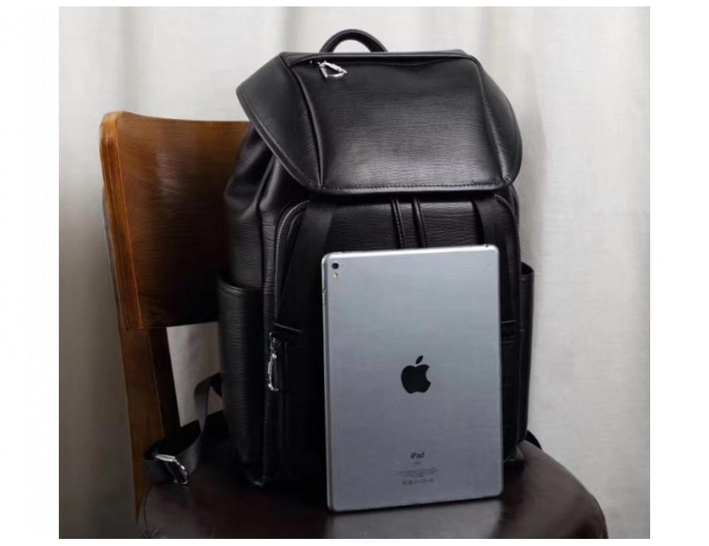 Стильный кожаный рюкзак мужской Tiding Bag B3-174A - Фото № 8